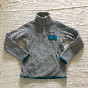 Patagonia Gray Pullover Long Sleeve Sz S